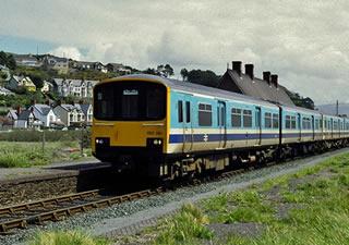 Aberdovey Train